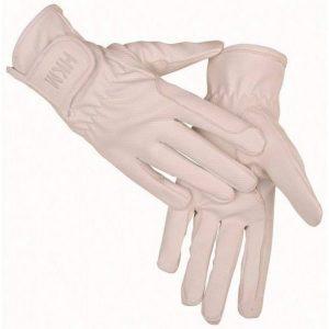 Jazdecké biele rukavice Supreme