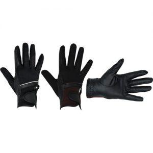 letné jazdecké rukavice
