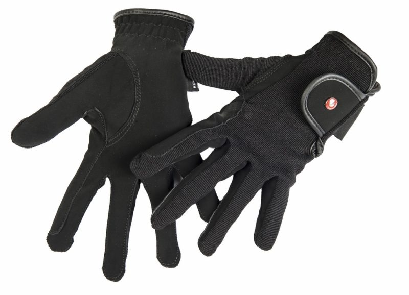 jazdecké rukavice profesional HKM