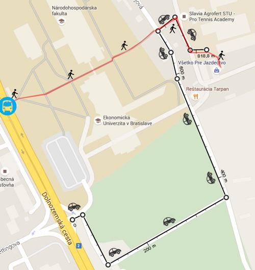 jazdeckyobchod.sk - mapa