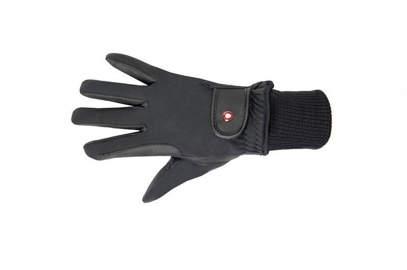 Jazdecké zimné rukavice FROSTY, HKM