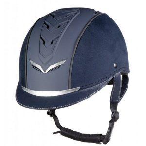 Jazdecká prilba Elegance modrá
