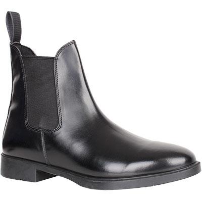 Jazdecké topánky kožené, perka