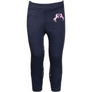 Detské jazdecké nohavice Pink Pony