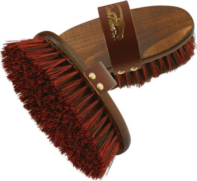 Ryžák drevený, kožené pútko, umelý vlas, KENTAUR