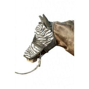 Maska proti hmyzu Zebra, aj pre shetty a pony