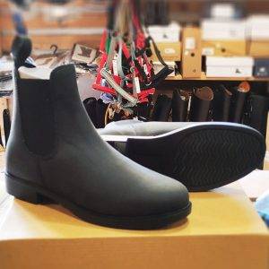 Jazdecké kožné topánky Illinois style