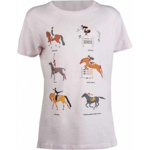 Detské tričko Equestrian Disciplines
